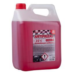 Antifrizas Ultra raudonas 5L