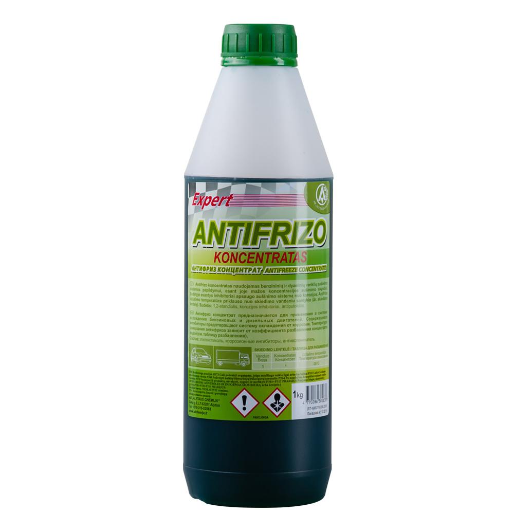 Antifrizo koncentratas žalias 1L