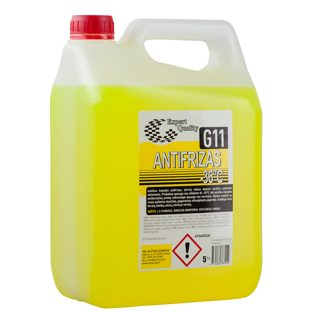Antifrizas G11 Long Life 5L