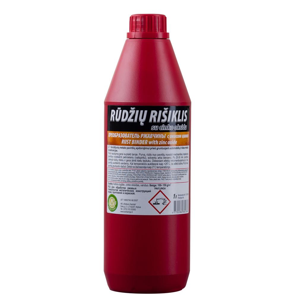 Rūdžių rišiklis su cinko oksidu 1L