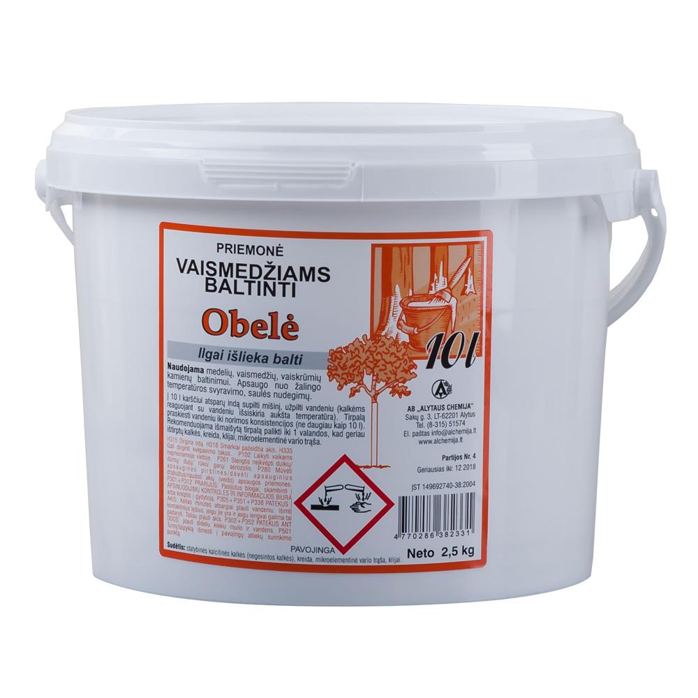 Priemonė vaismedžiams balinti Obelė 2,5kg