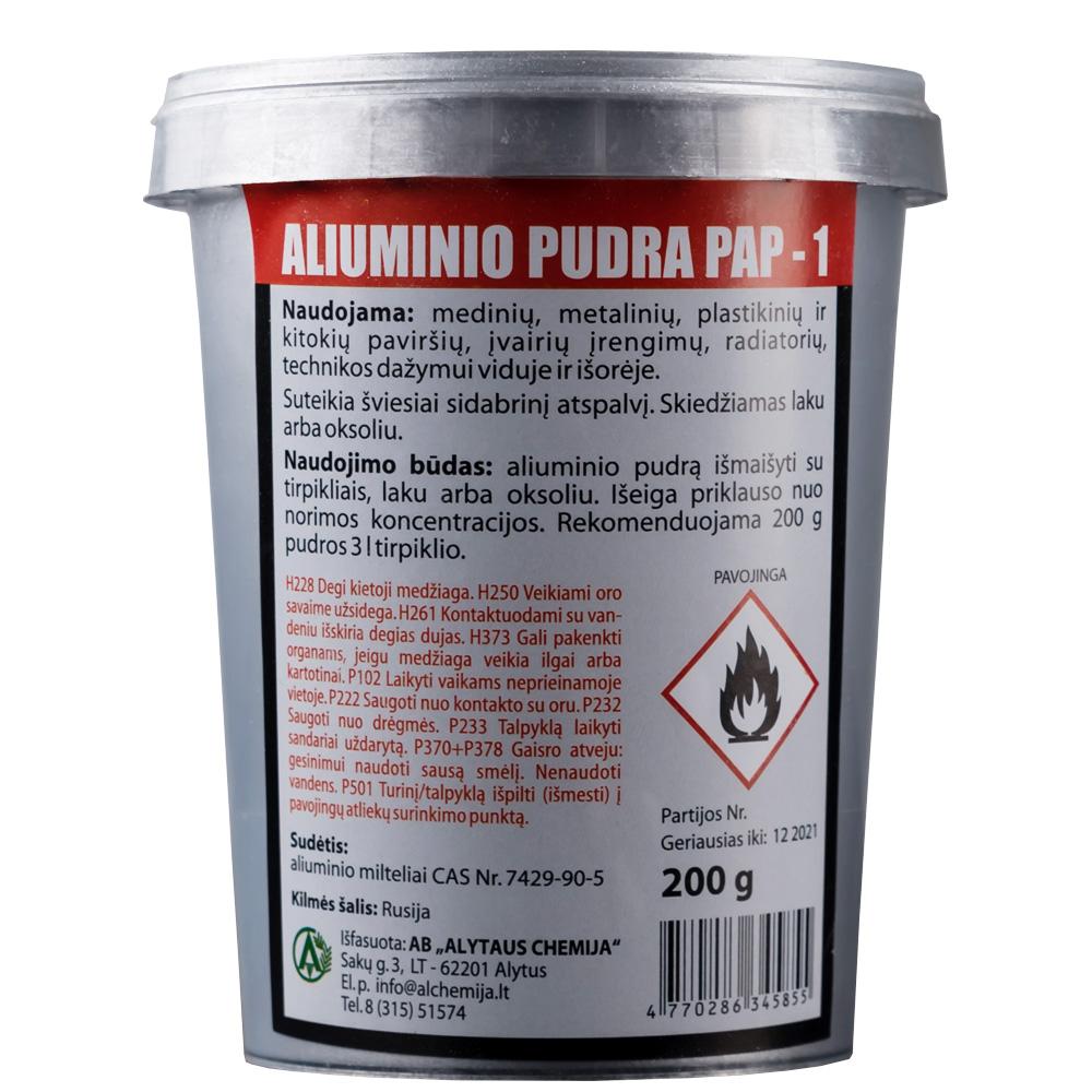 Aliuminio pudra